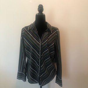 Memorial Day Sale 3/$25 Ninety Long Sleeve Blouse